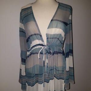 3/$25 item  Merona sheer tunic -- PRICE DROP!